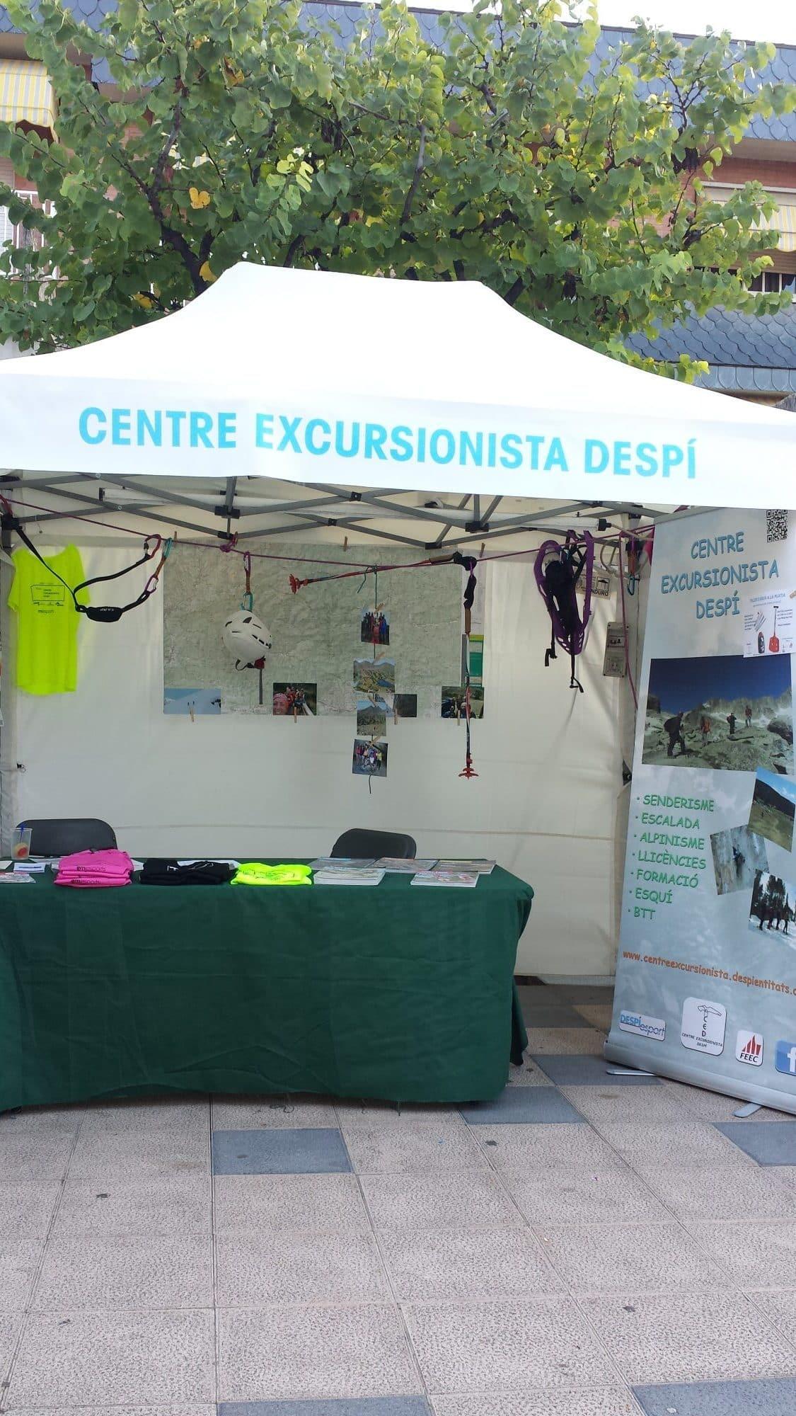 Centre excursionista Despí amb la Fira d´Entitats