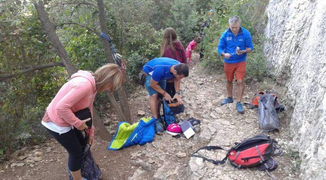 Matinal d'escalada a Pallejà